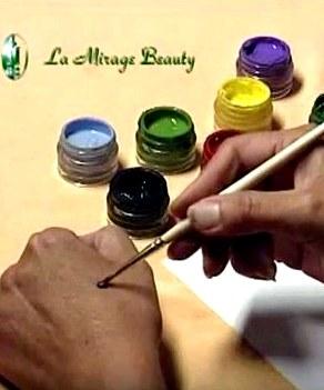 Миниатюрная роспись ногтей. Видеокурс